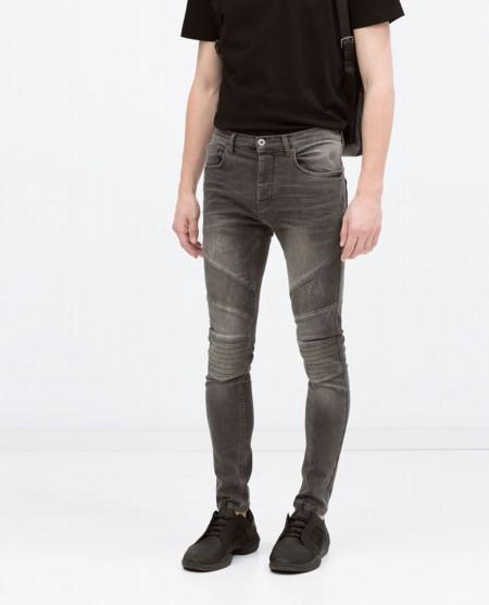 Clon De La Semana Balmain Zara Biker Jeans 2