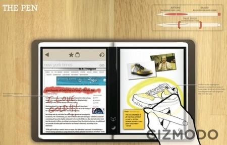 Microsoft Courier es multitáctil y nos encanta