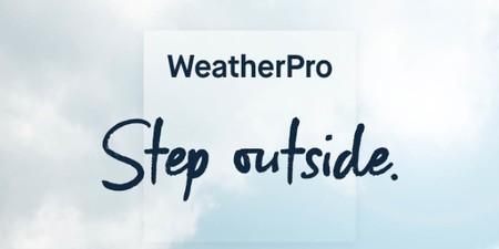 La aplicación del tiempo WeatherPro se renueva a fondo con nueva interfaz y módulos personalizables