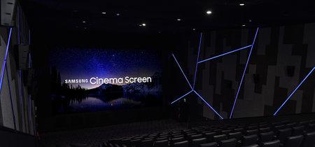 En el cine del siglo XXI que prepara Samsung no existen proyectores: la alternativa es una tele LED modular y gigante