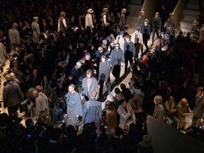 El desfile para el próximo invierno de Ermenegildo Zegna, unas propuestas sofisticadas que son todo un manifiesto de elegancia