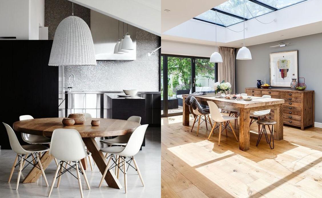 17 ideas para renovar la mesa del comedor de la casa for Renovar salon clasico