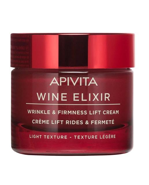 Crema de día Wine Elixir Ligera 50 ml Apivita