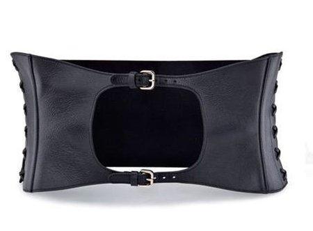 El cinturón corsé de Sergio Rossi. Otoño/Invierno 2010-2011