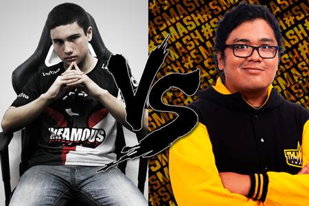 """El """"Trash-talk"""" entre Timado y Smash en stream durante una partida pública"""