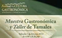 Muestra gastronómica y taller de Tamales, en el Festival de la Cultura Gastronómica de Haciendas y Casonas de Jalisco