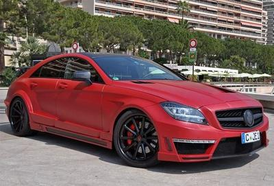 Mercedes-Benz CLS63 AMG Stealth By German Special Customs