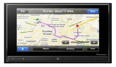 App Radio actualización mapas