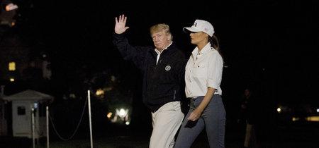 Los días de lluvia se visten con estilo y sencillez, palabra de Melania Trump