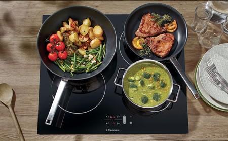 Esta es la nueva gama de hornos y encimeras de Hisense para facilitar la elaboración de platos en la cocina