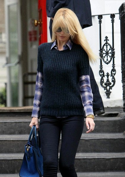claudia blue knit