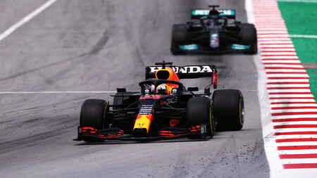 Verstappen Espana F1 2021