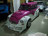 "Dolorpasión en Antic Auto Alicante 2008: Citroën Dyane 6 ""2CV Fast & 2CV Furious"" Edition"