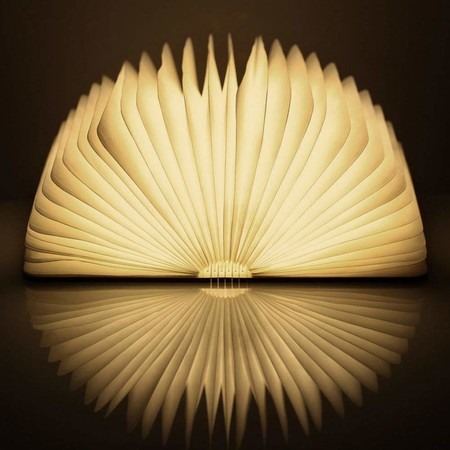 lampara libro