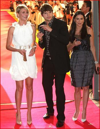 Cameron Diaz y Demi Moore juntas en otro estreno más de Algo pasa en Las vegas