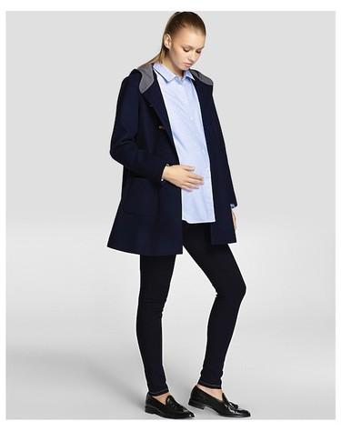 Moda para embarazadas Otoño-Invierno 2014/2015: camisas y blusas, el básico perfecto