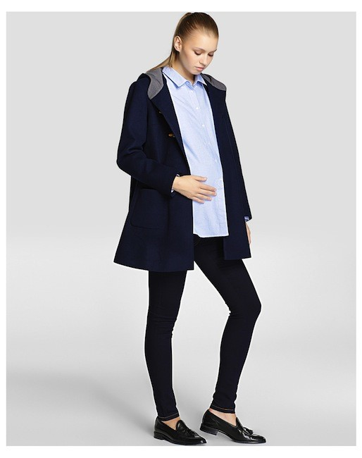 Moda para embarazadas oto o invierno 2014 2015 camisas y for Moda premama invierno