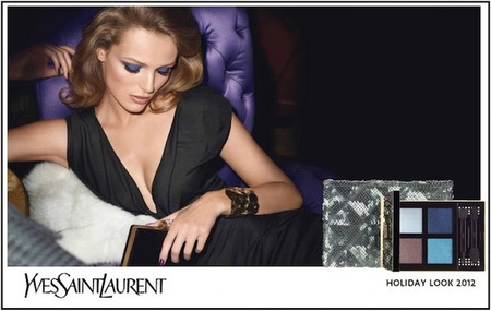 Yves Saint Laurent presenta su colección navideña Northern Lights