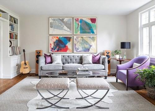 Once formas originales de convertir tus paredes en preciosos collages