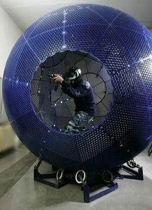 VirtuSphere, la esfera que te integra en los juegos