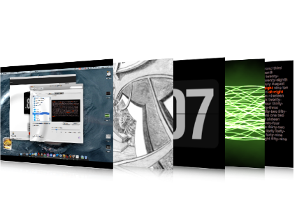 5 Salvapantallas con estilo para Mac OS X