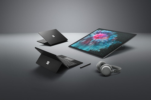 Microsoft pinta de negro a sus Surface de nueva generación que —quizá— nunca veremos en México
