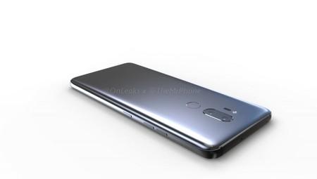 LG G7 render diseño