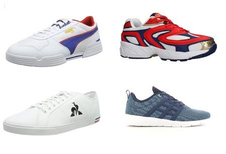 Chollos en tallas sueltas de zapatillas New Balance, Puma, Le Coq Sportif o Fila por menos de 30 euros en Amazon