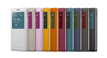 Samsung nos enseña los accesorios del Galaxy Note 3 con peso en la carga inalámbrica