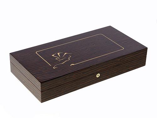 Mysterio Unique Custom Poker Box de Lancelot Lancaster White