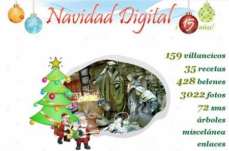 Navidad digital: web con recursos navideños