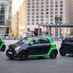 smart Electric Drive 2017: tres carrocerías y hasta 160 kilómetros de autonomía