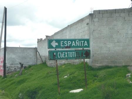Toponimia Espanita