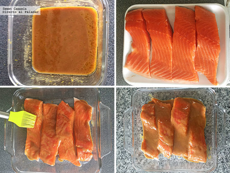 Salmon Con Miso Y Naranja 2