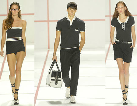 Lacoste en la Semana de la Moda de Nueva York Primavera-Verano 2008