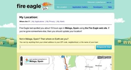 Fire Eagle, el nuevo servicio de Yahoo para compartir nuestras ubicaciones