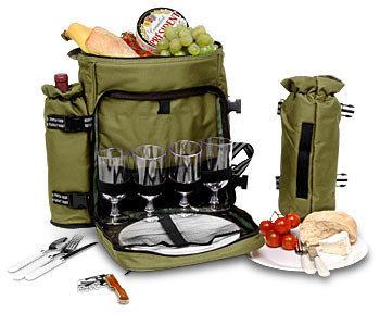Todo el picnic en la mochila