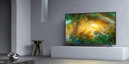 """Pantallón por menos de 1000 euros: la Smart TV Sony KD-65XH8096 2020 de 65"""" está rebajada en El Corte Inglés a 999 euros"""