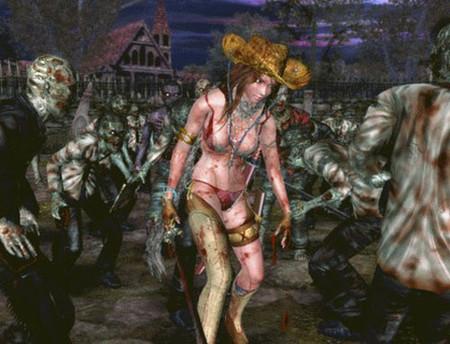 """Oneechanbara: Bikini Zombie Slayers"". Chicas guapas en bikini masacrando zombies... gracias Wii"