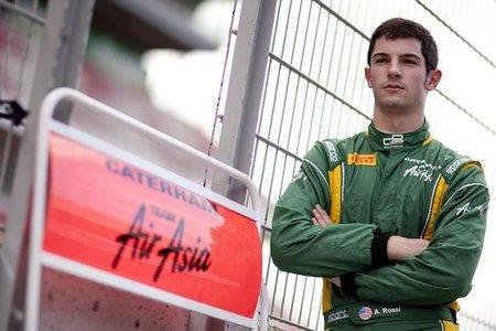 Alexander Rossi será el piloto probador de Caterham