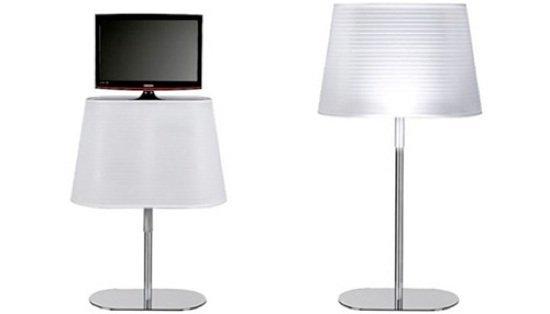televisor lampara
