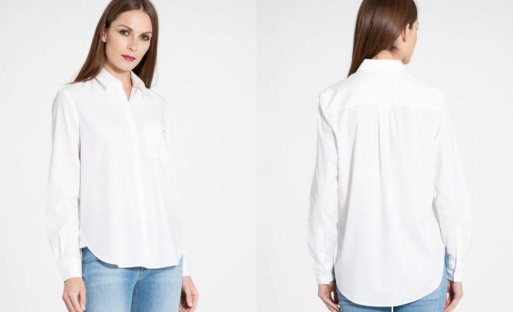 Camisa de mujer básica de manga larga