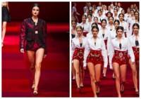 Dolce and Gabbana Blanca Padilla