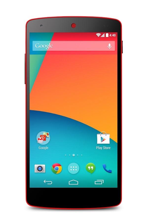 Foto de Nexus 5 - Rojo brillante (5/9)