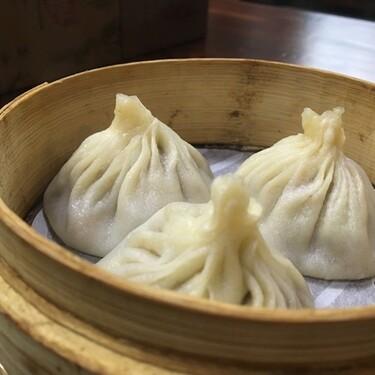Dumplings de cerdo y camarones. Receta fácil de comida china