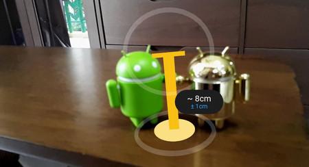 La cámara de Google añadirá un modo de medición de objetos por realidad aumentada