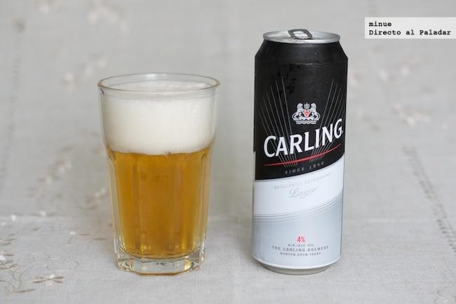 Cata de cerveza Carling - 2