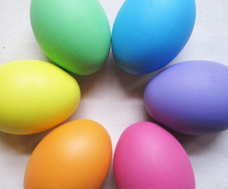 Huevos Pascua Colores