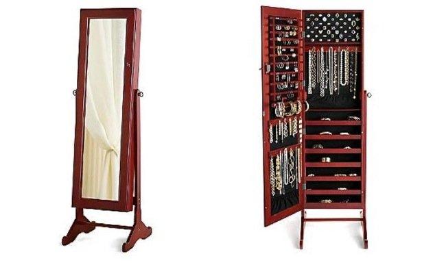 Una buena idea joyero y espejo dos en uno for Espejo joyero casa