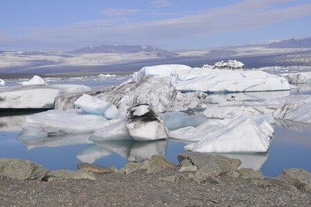 Glacier Iceland Countries Mountains Ice Sea Water Permafrost 1258707